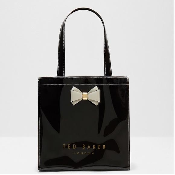 95df4c0c02 Ted Baker London Bags | Shopping Tote Black White Bag | Poshmark